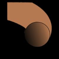 O 03 X 2 FPM75 BROWN